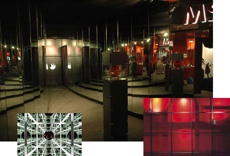 Ausstellungsarchitektur für Rheinschiff MS Jenny 4