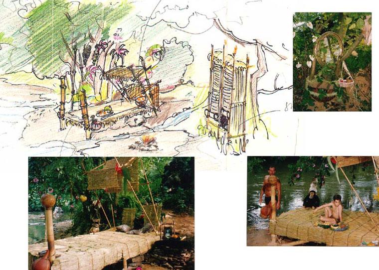 Tarzan's Schlafzimmer